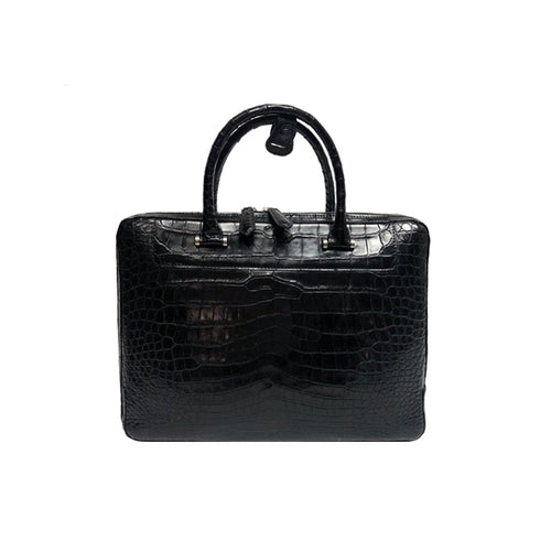 Crocodile Laptop Bag