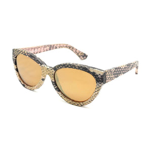 Cannes - Mirror Lens (Gold Python)
