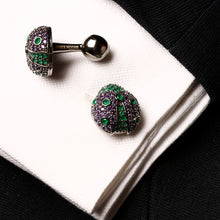 The Lady Bug Cufflink
