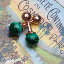 The Malachite Cufflink - UniqueFindz.com