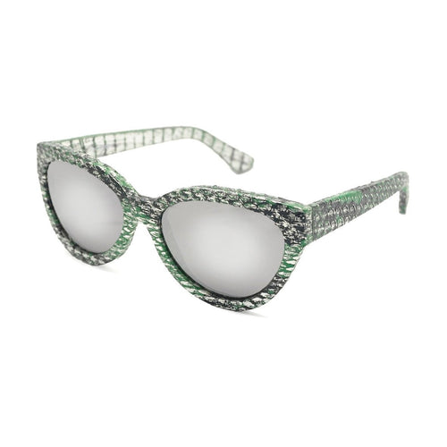 Cannes - Mirror Lens (Silver Python)