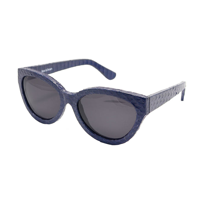 Cannes - Classic Lens (Navy Snake)