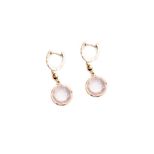Circle Pearl Earrings - UniqueFindz.com