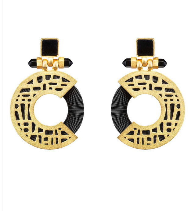 Urban Maze Earrings - UniqueFindz.com