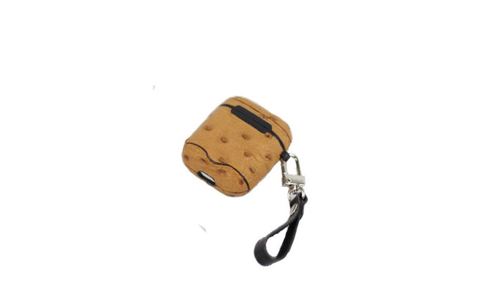 Tan Airpod Case - UniqueFindz.com