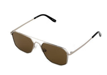 Shield Sunglasses-Silver