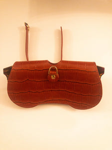 Sunglass case - Brownish Red