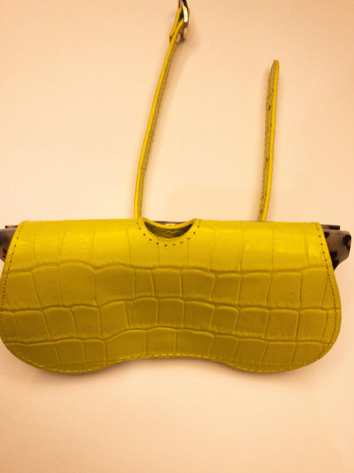 Sunglass Case - Yellow