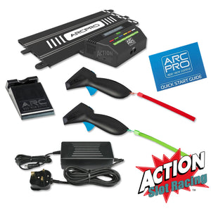 Which Scalextric digital track can be used with Scalextric ARC Pro?