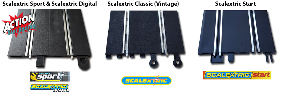 Scalextric Track Types
