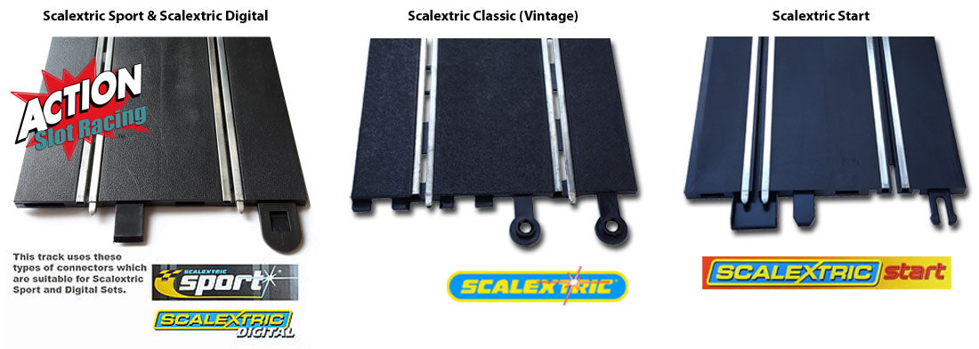 Scalextric Track Types & Connectors