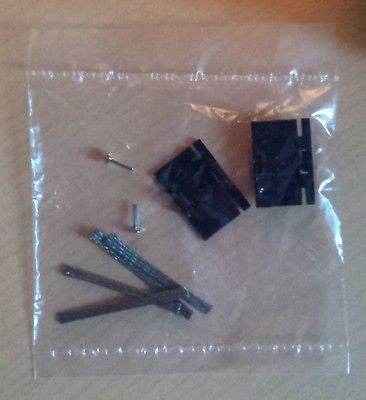 MICRO SCALEXTRIC 1:64 Spares - Guide Plates & Pick-up Braids with Pins L8109 - Action Slot Racing