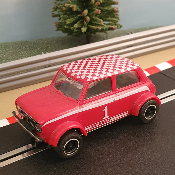 Scalextric 1:32 Car - C122 Red Mini 1275 GT #1 #A