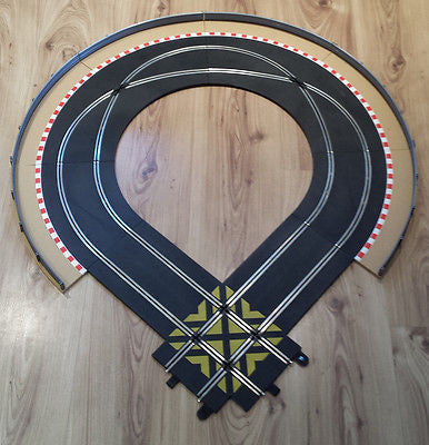 Scalextric Sport 1:32 Track Extension C8210, C8206, C8203 + Borders, Barriers #E