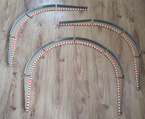 Scalextric Sport 1:32 Rad2 Borders & Barriers C8228 C8233 8 Outer, 6 Lead-In