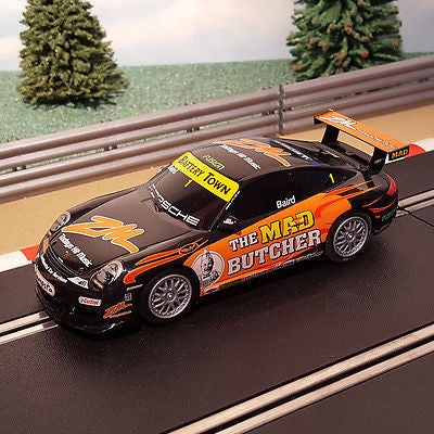 Scalextric 1:32 Car - Porsche 997 The Mad Butcher #1