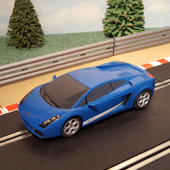 Scalextric 1:32 Car - Blue Lamborghini Gallardo #A