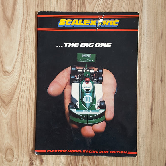 Scalextric Catalogue Literature Magazine - C512 1980 21st Edition