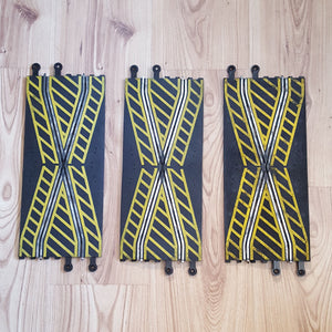 Scalextric 1:32 Classic Track - C182 PT82 Hatched Cross Over x 3 #A