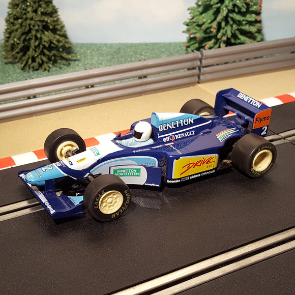 Scalextric 1:32 Car - Formula One F1 - Renault Benetton elf #2