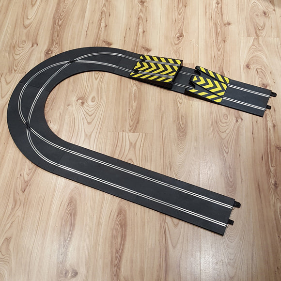 Scalextric Sport Track Extension Crossover Curves Ramp Jump C8211 C8203 C8205