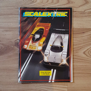 Scalextric Catalogue Literature Magazine - C525 1991 32nd Edition A5 Size