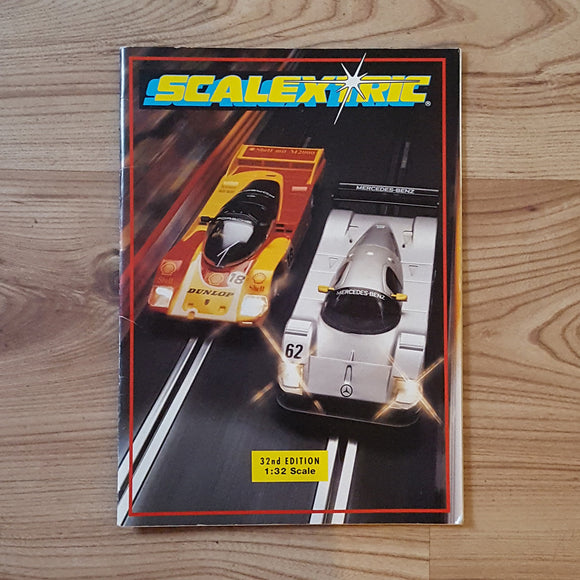 Scalextric Catalogue Literature Magazine - C525 1991 32nd Edition