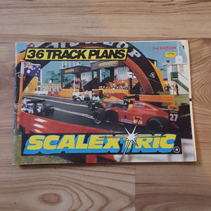 Scalextric Catalogue Literature Magazine - C501 1993 3rd Edition  36 Track Plans