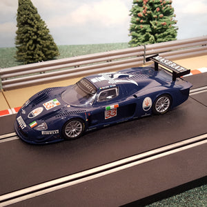 Scalextric 1:32 Digital Car - C2630D Blue Maserati MC12 #33 *LIGHTS* #M