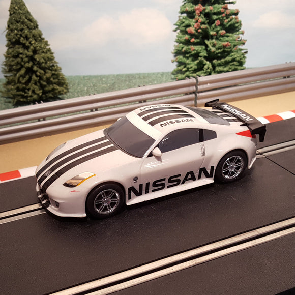 Scalextric 1:32 Drift Car - White Nissan 350Z