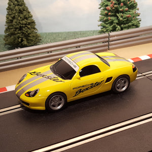 Scalextric 1:32 Digital Car - Yellow Porsche Boxster
