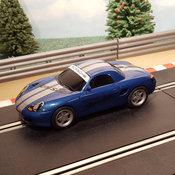 Scalextric 1:32 Digital Car - Blue Porsche Boxster