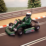Ninco Runs On Scalextric 1:32 Kart - Green #7 - Action Slot Racing