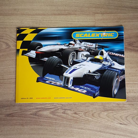 Scalextric Catalogue Literature Magazine - 2002 Edition 43