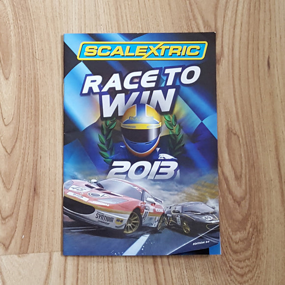 Scalextric Catalogue Literature Magazine - 2013 Edition 54