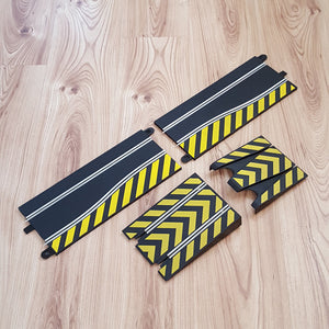 Scalextric Sport Track C8211 C8246 - Leap Straights Ramp & Hatched Chicane #E