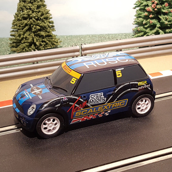 Scalextric 1:32 Car - C3563 BMW Mini Cooper 'Team Scalextric' RUSC #5 Norman #M