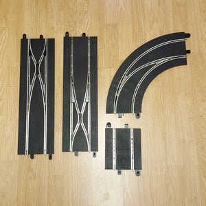 Scalextric Digital 1:32 Track Expansion C7036, C7008 Crossover Straights & Curve