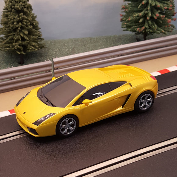 Scalextric 1:32 Car - Metallic Yellow Lamborghini Gallardo