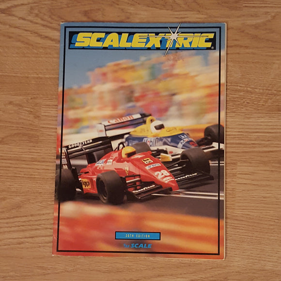Scalextric Catalogue Literature Magazine - C508 1989 30th Edition