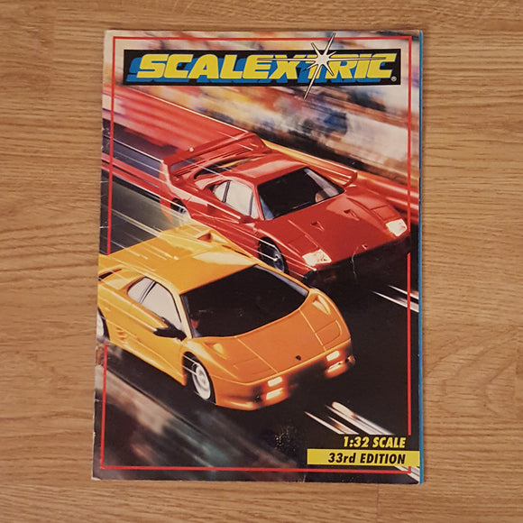 Scalextric Catalogue Literature Magazine - C526 1992 33rd Edition