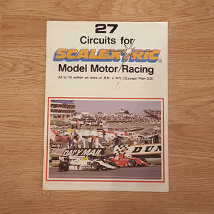 Scalextric Catalogue Literature Magazine - C500 1989 27 Circuits