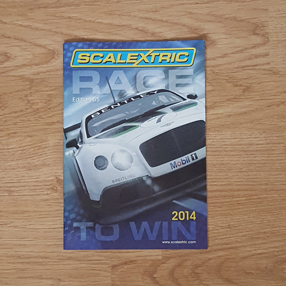 Scalextric Catalogue Literature Magazine - 2014 Edition 55