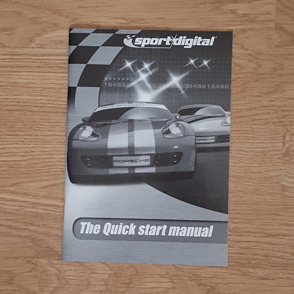 Scalextric Digital 6 Car Powerbase C7030 - The Quick Start Instruction Manual