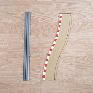 Scalextric 1:32 Track - Border & Barrier for Pit Lane ML00146 ML00157