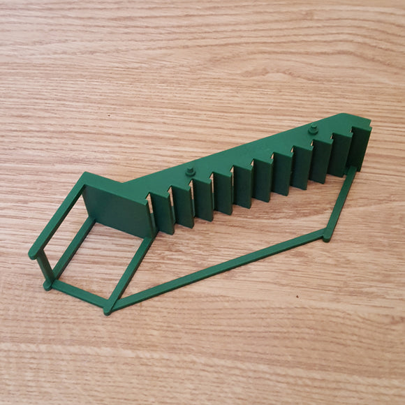 Scalextric 1:32 Spare Part - C705 Grandstand Green Steps Stairs