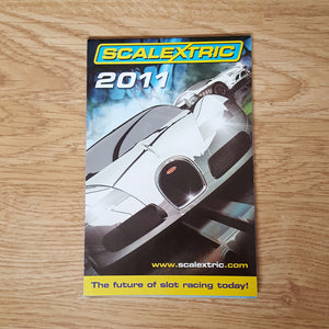 Scalextric Catalogue Literature Magazine - M5236 2011