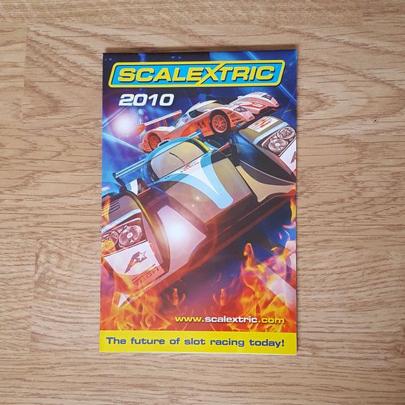 Scalextric Catalogue Literature Magazine - M5114 2010