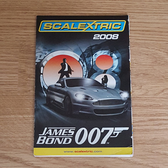 Scalextric Catalogue Literature Magazine - 2008