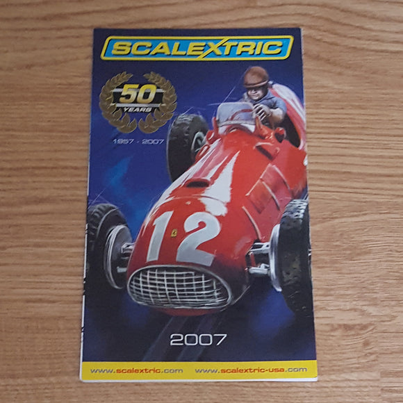 Scalextric Catalogue Literature Magazine - 2007